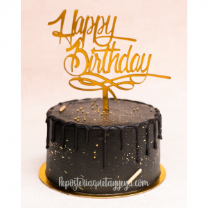 black and gold cake2