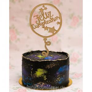 torta cumpleaños dark
