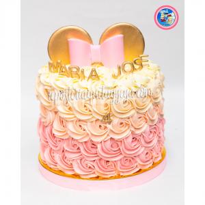 Torta Minnie crema