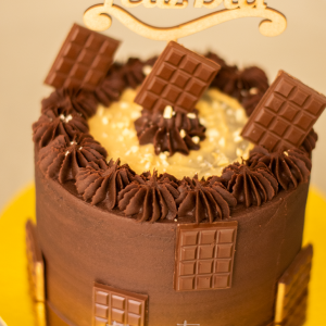 torta vegana de chocolate y nueces